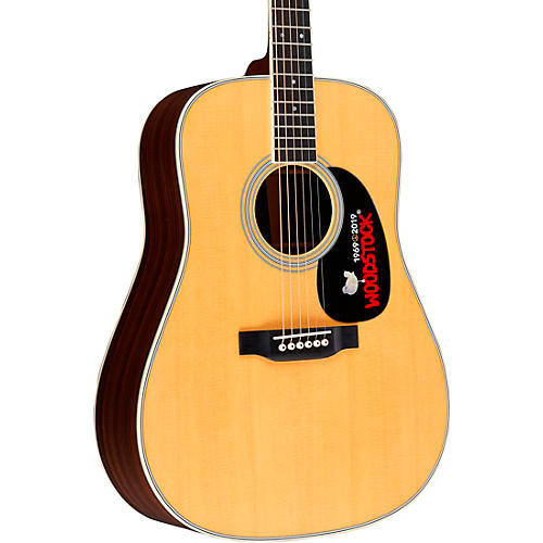 Martin D-35 Woodstock 50th Anniversary Deadnought Acoustic Guitar Natural