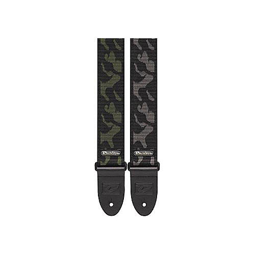 dunlop d 38 camo guitar strap camouflage gray musician 39 s friend. Black Bedroom Furniture Sets. Home Design Ideas