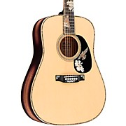 D-42 Purple Martin Limited-Edition Flamed Myrtle Dreadnought Acoustic Guitar Natural
