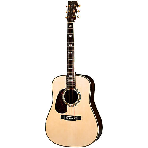 Martin D-45 Authentic 1942 Dreadnought Left-Handed Acoustic Guitar