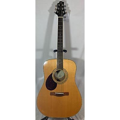 Greg Bennett Design by Samick D-5 LH Acoustic Guitar