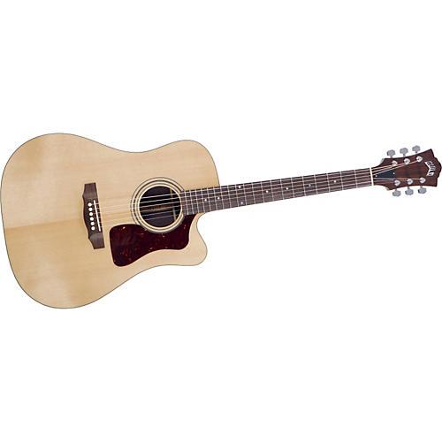 Guild D-50CE Standard Cutaway Acoustic-Electric Guitar