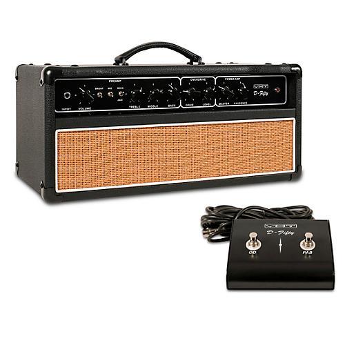 VHT D-50H 50W Tube Guitar Amp Head Black and Beige