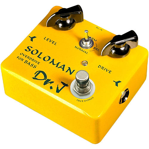 Dr. J Pedals D-52 Soloman Bass Overdrive Guitar Effects Pedal with True Bypass