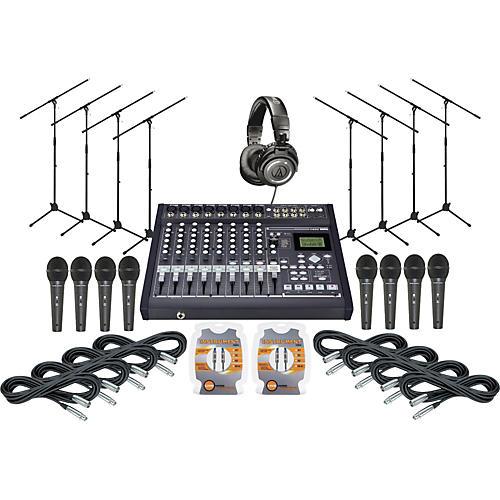 Korg D-888 Live Recording Package