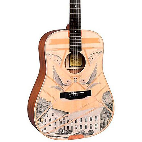 Martin D-Boak Custom Signature Edition Dreadnought Acoustic Guitar