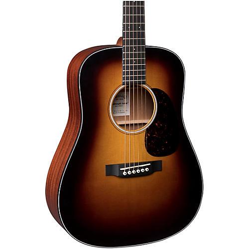 Martin D Jr. Sunburst Acoustic Guitar
