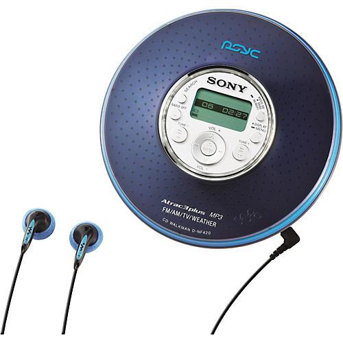 Sony D-NF420PS PSYC MP3/ATRAC3 CD Walkman