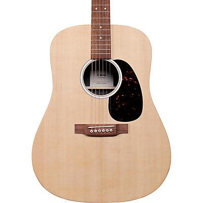 Martin D-X2E Sitka Spruce Mahogany Dreadnought Acoustic-Electric Guitar