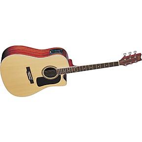 washburn d10sce cutaway acoustic electric guitar musician 39 s friend. Black Bedroom Furniture Sets. Home Design Ideas