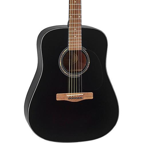 Mitchell D120 Dreadnought Acoustic Guitar Condition 1 - Mint Black