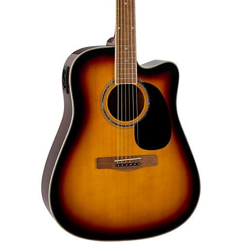Mitchell D120CE Dreadnought Cutaway CE Acoustic-Electric Guitar 3-Color Sunburst