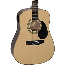 Open Box Mitchell D120S12E 12-String Dreadnought Acoustic-Electric Guitar