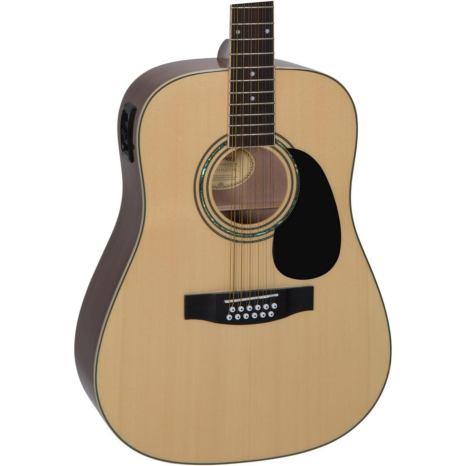 Mitchell D120S12E 12-String Dreadnought Acoustic-Electric Guitar