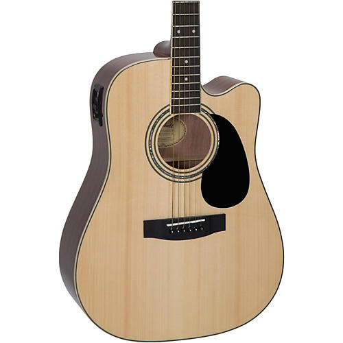 Mitchell D120SCE Acoustic-Electric Guitar Natural