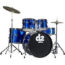 D2 5-piece Drum Set Blue