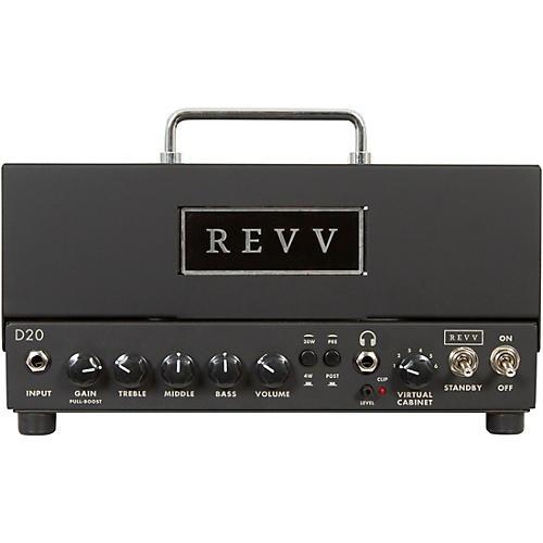 Revv Amplification D20 20W Tube Guitar Amp Head Black