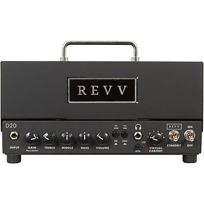 Revv Amplification D20 20W Tube Guitar Amp Head