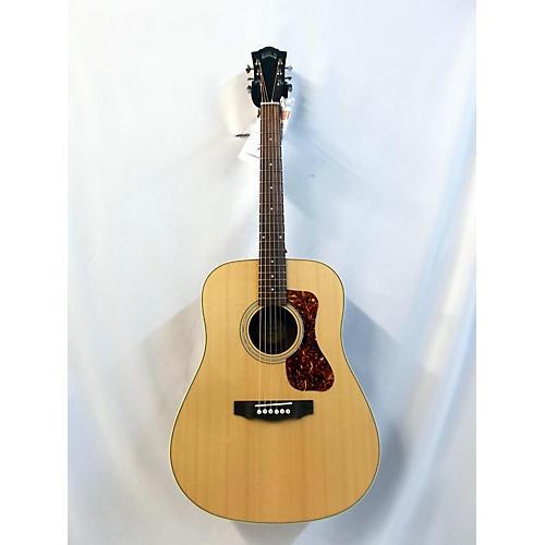 Guild D240e Acoustic Electric Guitar Natural