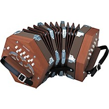Open BoxHohner D40 Concertina