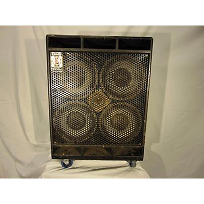 Eden D410XL 700W 4x10 Bass Cabinet