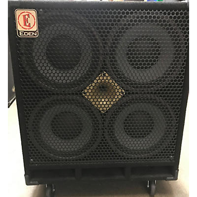 Eden D410XST 1000W 4x10 Bass Cabinet