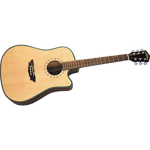 Washburn D46SCE Southwest Dreadnought Cutaway Acoustic-Electric Guitar w/case