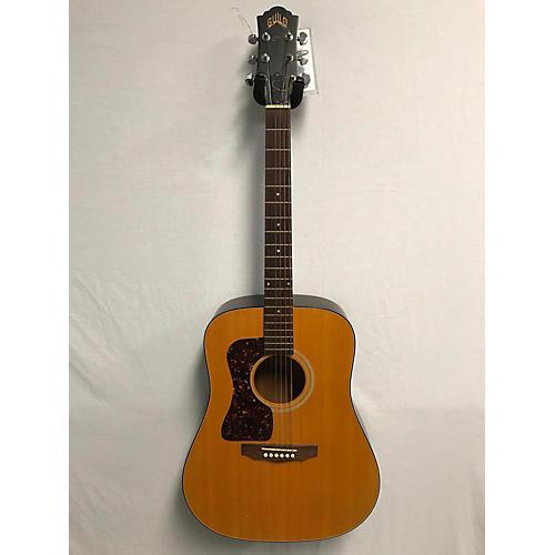 Guild D4NT-LH Left Handed Acoustic Guitar Natural