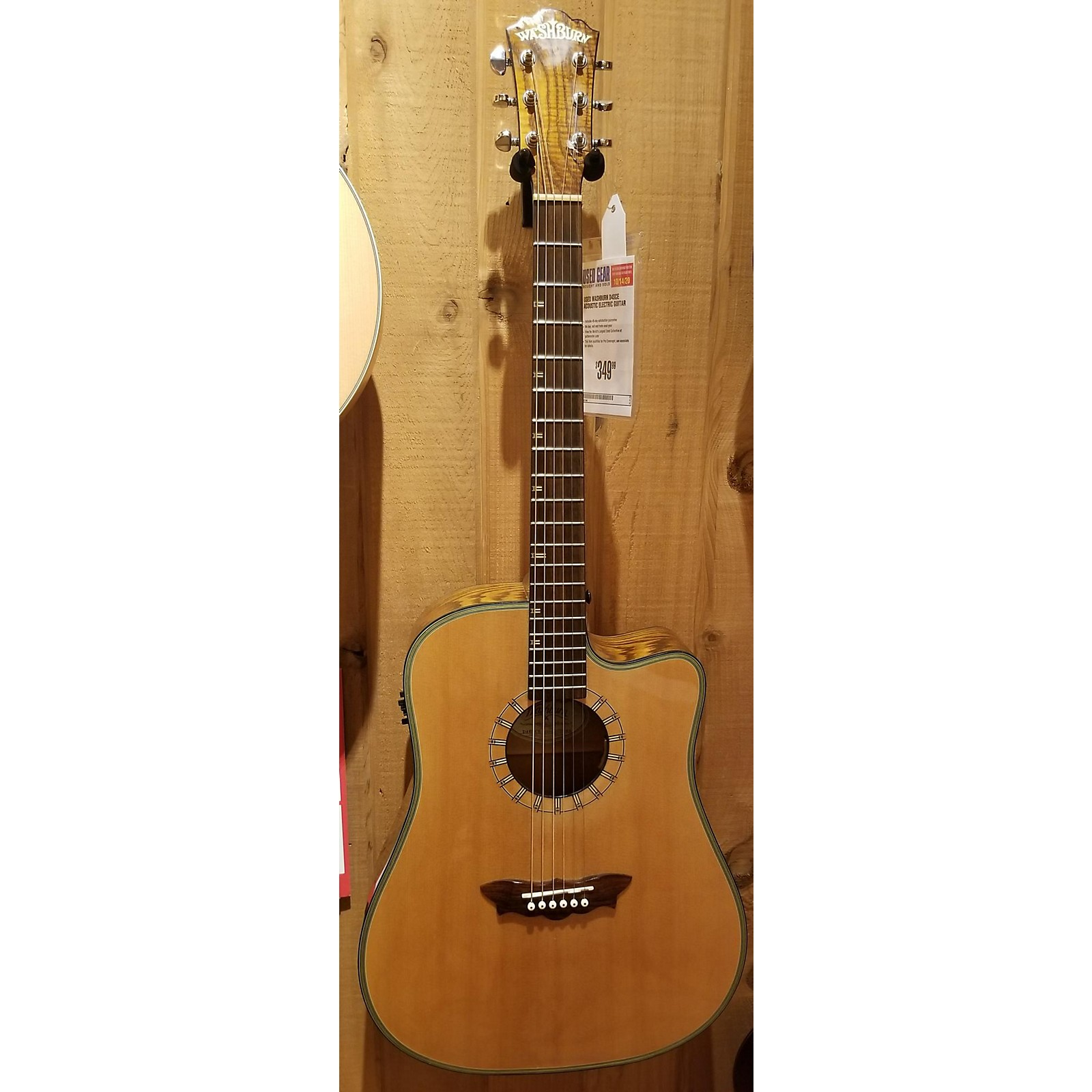 Washburn D4SCE Acoustic Electric Guitar