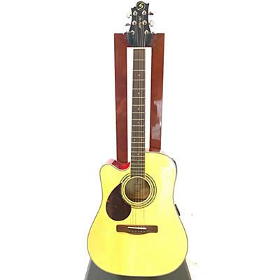 Greg Bennett Design by Samick D5CELH Acoustic Electric Guitar