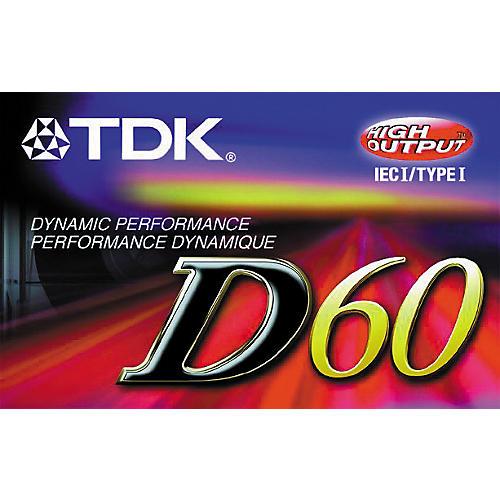 TDK D60 Type 1 Cassette