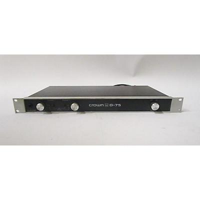 Crown D75 Power Amp