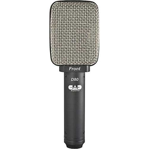CadLive D80 Large Diaphragm Cardiod Dynamic Cabinet/Percussion Microphone