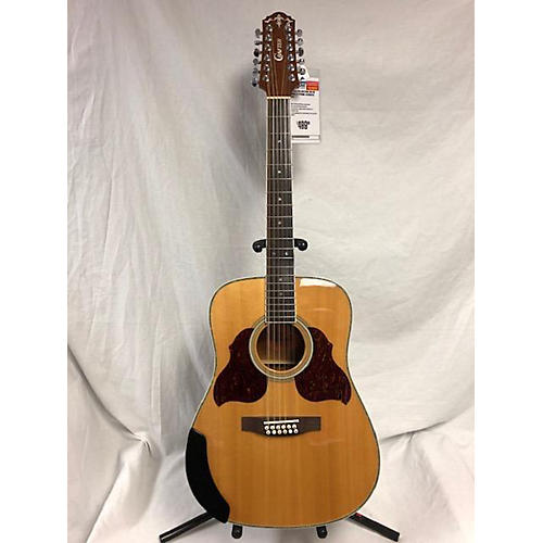 Crafter Guitars D812N 12 String Acoustic Guitar Natural