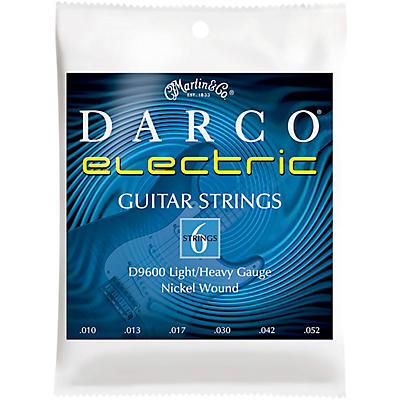 Darco D9600 Light/Heavy Guage Nickel Wound 6 Set Electric Guitar Strings