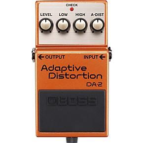 boss da 2 adaptive distortion guitar effects pedal musician 39 s friend. Black Bedroom Furniture Sets. Home Design Ideas
