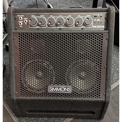 Simmons DA 200SB 200 W Drum Amplifier