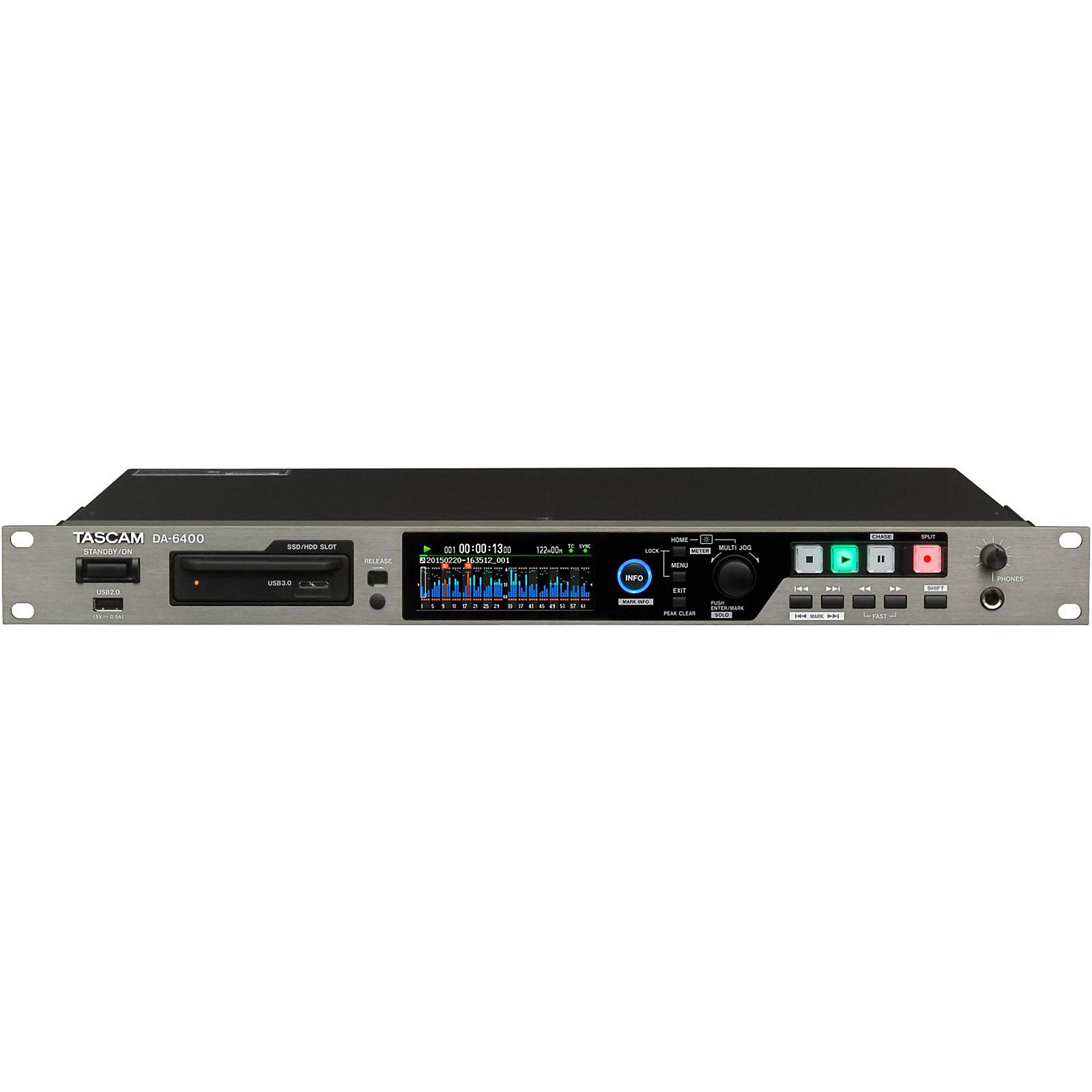 Tascam DA-6400 64-Channel Digital Multitrack Recorder