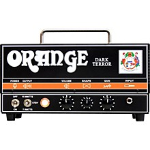 Open Box Orange Amplifiers DA15H Dark Terror 15 15W Tube Guitar Amp Head