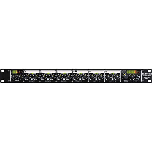 Drawmer DA6X Balanced Distribution Amplifier