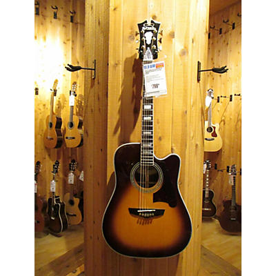 D'Angelico DAASD500VSB Acoustic Electric Guitar