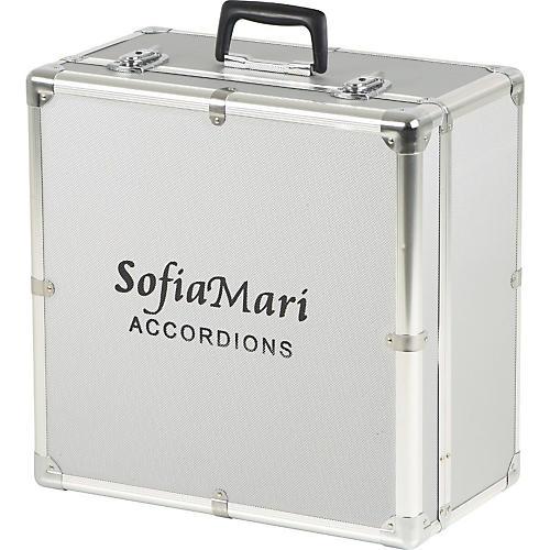 SofiaMari DAC-3112 Deluxe Metal Accordion Case