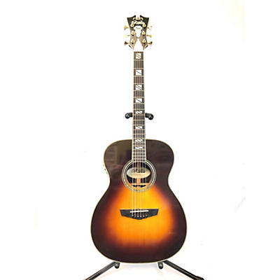 D'Angelico DAEOMVSBGP Excel Tammany Acoustic Electric Guitar