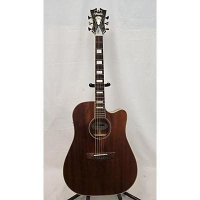 D'Angelico DAPGC20MNS Acoustic Electric Guitar