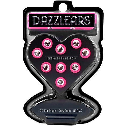 Hearos DAZZLEARS 7-Pair with Free Case