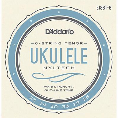 D'Addario D'Addario 6-String Nyltech Ukulele Strings