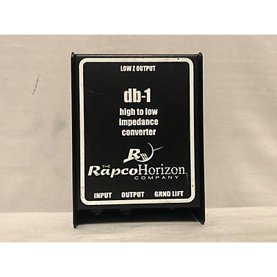 Rapco Horizon DB-1 High To Low Impedence Converter Direct Box