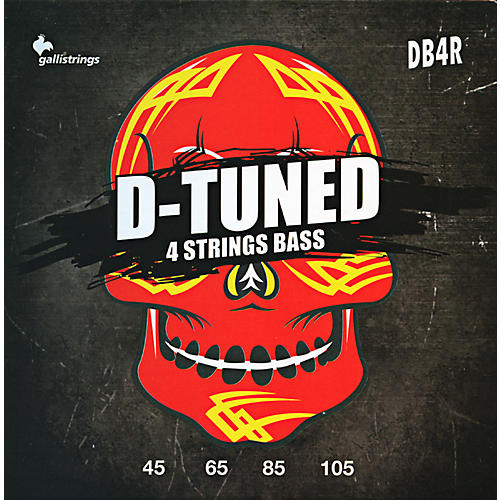 Galli Strings DB4R D-TUNED Bass Strings 45-105