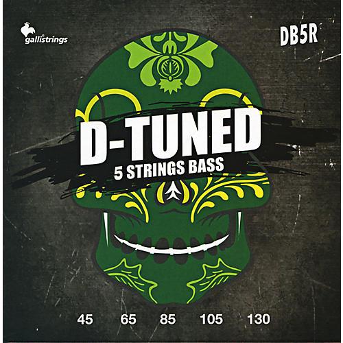 Galli Strings DB5R D-TUNED 5-String Bass Strings 45-130