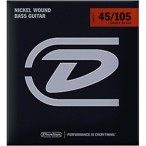 Dunlop DBN45105S Bass-NKL 45/105 Short-Scale 4-String Set